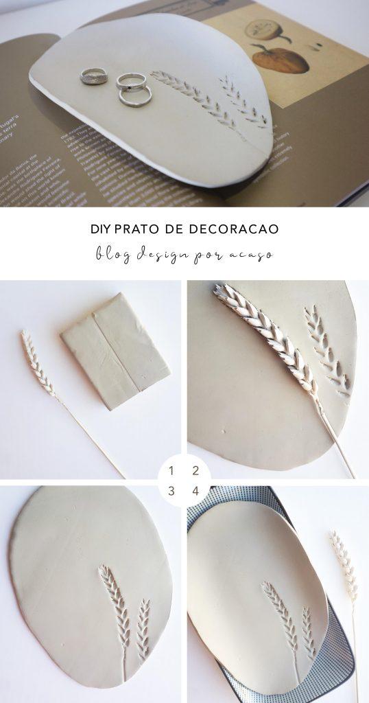 DIY PRATO DE DECORAÇÃO